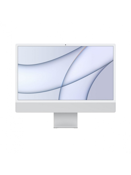 APPLE iMac 24P Retina 4,5K - Apple M1 8c CPU/7c GPU, 8GB, 256GB, Ethernet - Silver