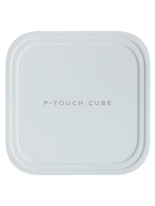 Rotuladora BROTHER Eletrónica PT-P910BT Cube Branco - Bluetooth