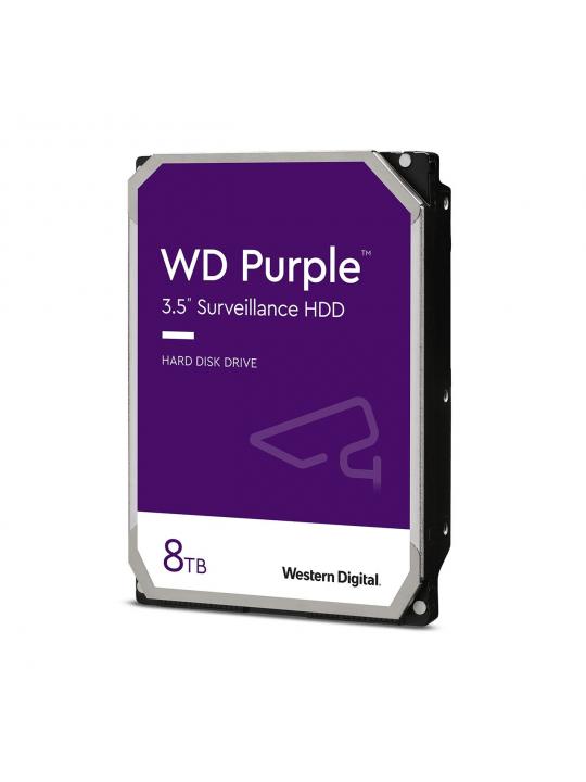 Disco 3.5 8TB WD Purple 128Mb SATA 6Gb/s 56rp - Video Vigilância