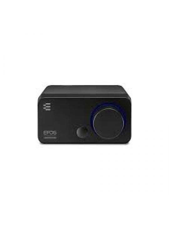 Placa de som Externa SENNHEISER GSX 300 7.1 botões customizáveis