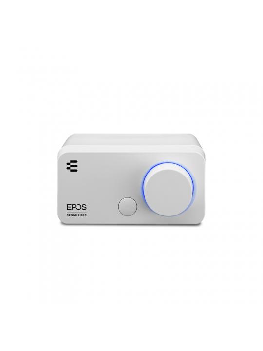 Placa de som Externa SENNHEISER GSX 300 7.1 botões customizáveis white