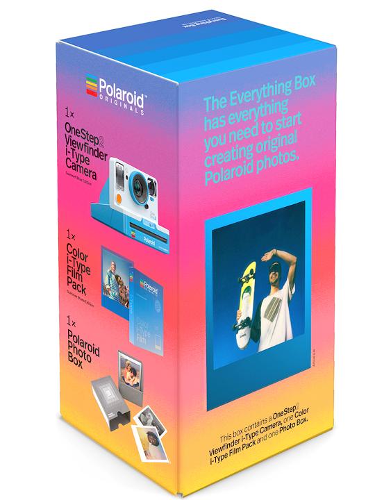 POLAROID One Step2 + Film i-Type Blue - Bundle 4939
