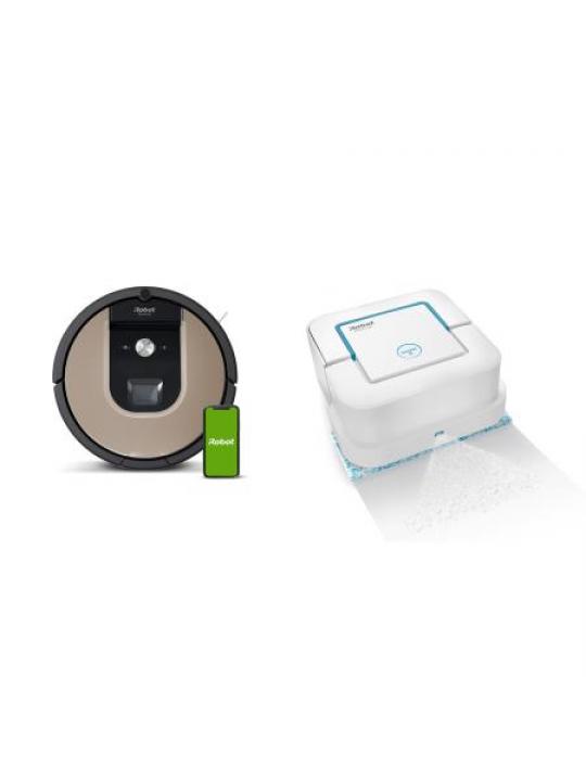 iROBOT - Bundle Roomba 976+Braava Jet 250