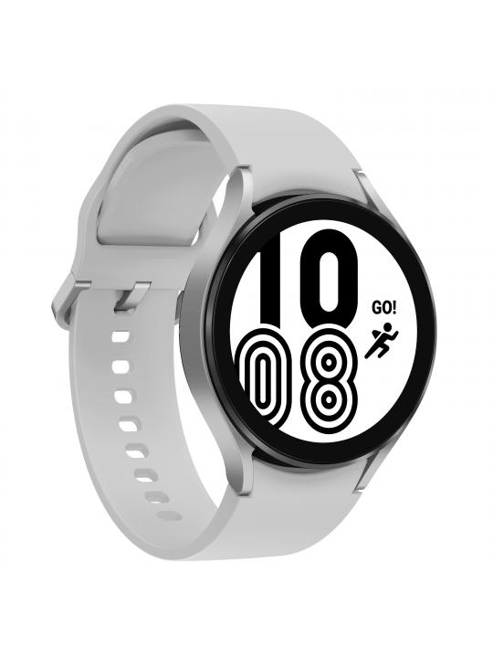 SAMSUNG - Galaxy Watch4 44mm LTE Silver SM-R875FZSAEUB