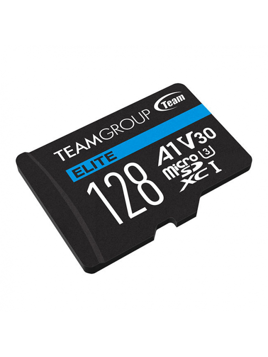Micro SD Elite Team Group 128GB class10 UHS-I U3 V30 A1 SDHC-SDXC (90MB-s-45MB-s)
