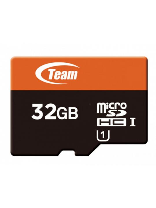 MicroSD Team Group 32GB class10 UHS-I SDHC (80MB-s-15MB-s) c-adaptador