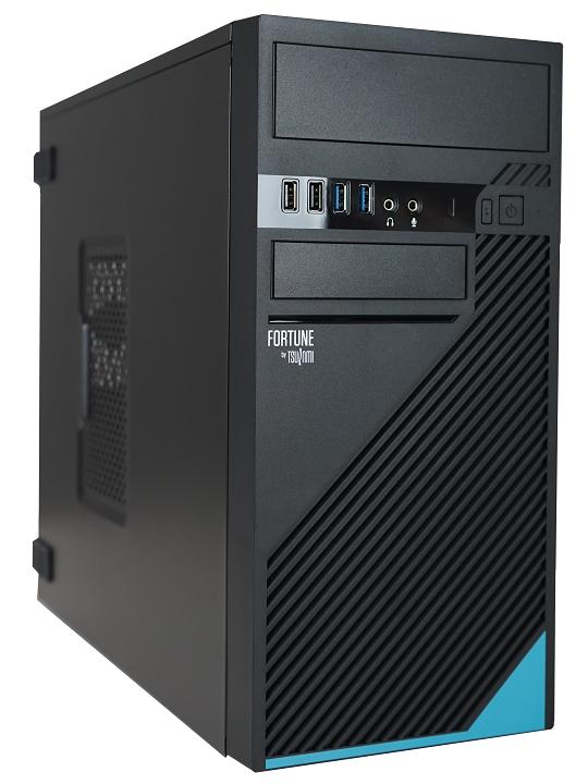 DT TSUNAMI FORTUNE AMD R3Pro-4350G 8GB SSD256GB DVDRW Win10Pro 3YrGar
