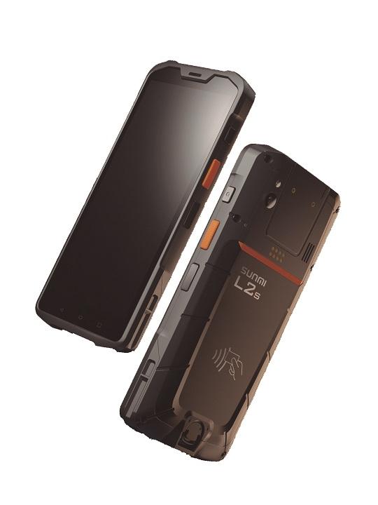 PDA SUNMI L2S RFID c- Scanner 2D Zebra 4710 & Hand Strap - Android 9.0 IP65 3GB+32GB + NFC + Cam 13M