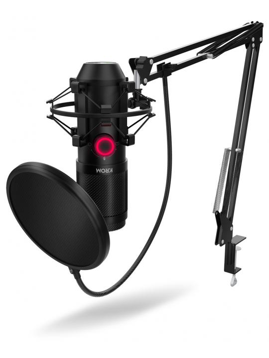 Microfone NOX Krom Kapsule - NXKPROMKPSL
