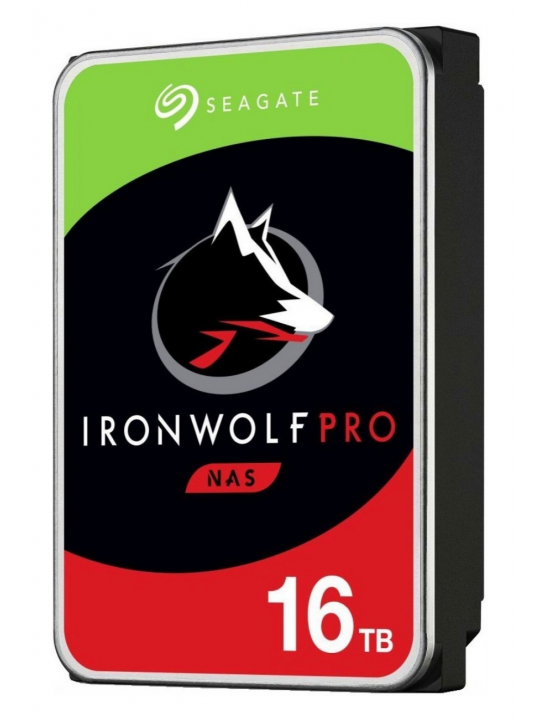 Disco 3.5 16TB SEAGATE IronWolf Pro 256Mb SATA 6Gb-s 72rp