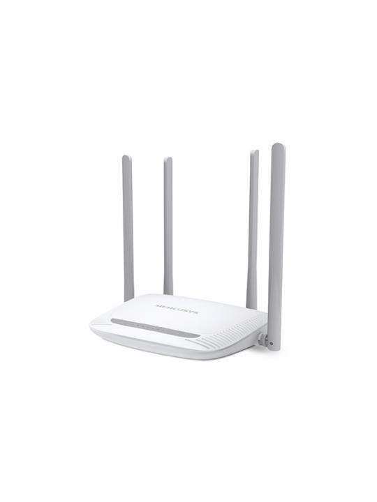 Router MERCUSYS 300Mbps Wireless N, 2T2R, 2.4GHz, 802.11b-g-n, 1 10-100M WAN + 4 10-100M LAN