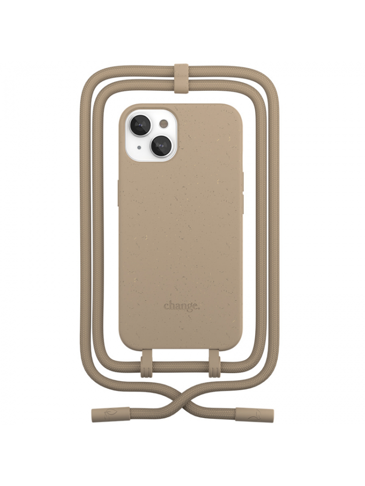 Woodcessories - Change iPhone 13 (taupe)