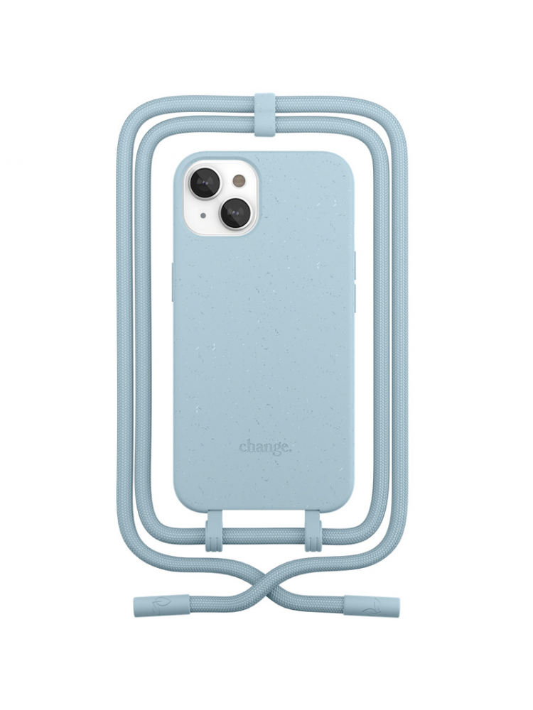 Woodcessories - Change iPhone 13 (pastel blue)
