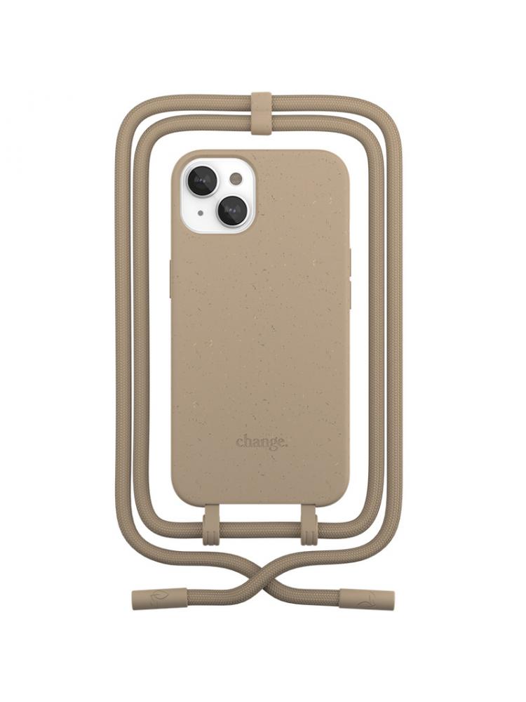Woodcessories - Change iPhone 13 mini (taupe)