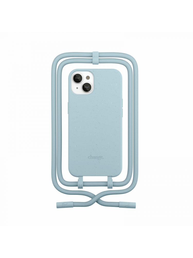 Woodcessories - Change iPhone 13 mini (pastel blue)