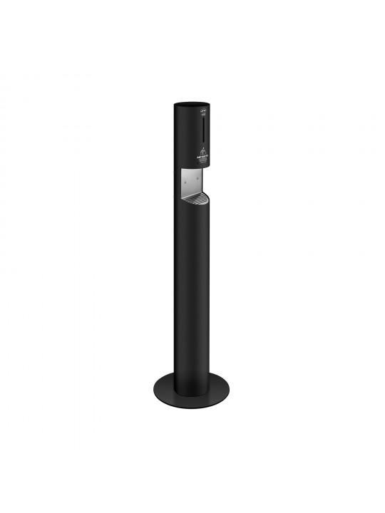 Dispensador automático de solução antisséptica de pé - PRETO