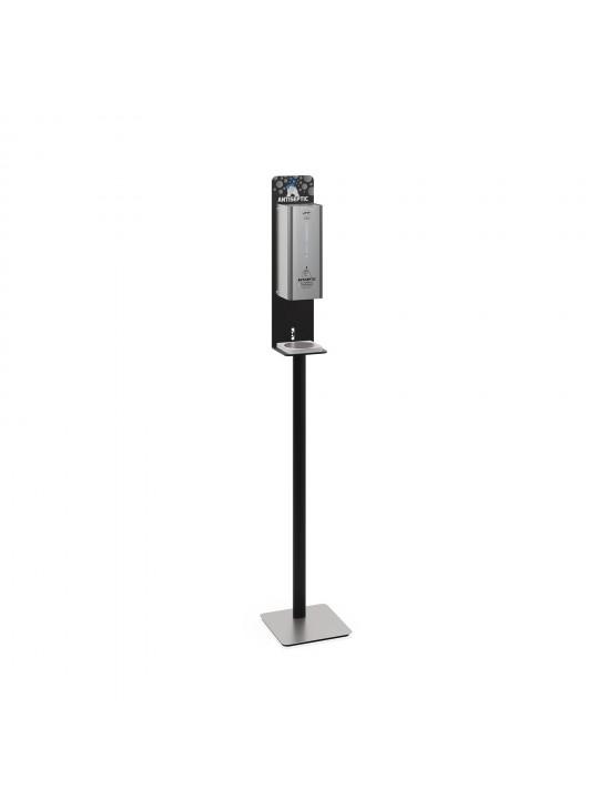 Dispensador automático de solução antisséptica de pé
