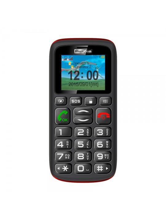 Telemovel Maxcom Comfort MM428 1,8´´ Dual SIM 2G Preto-Vermelho