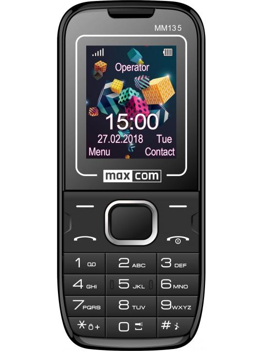 Telemovel Maxcom Classic MM135 1,77´´ Dual SIM 2G Preto-Azul