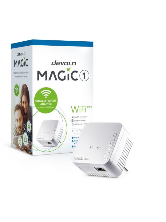 Devolo Magic 1 WiFi mini, Adap adicion, Velocid. PLC até 1200Mbps, Wi-Fi mesh c-1 Porta LAN - PT8559