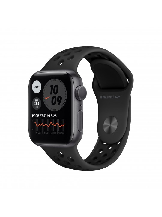 APPLE Watch Nike Series 6 GPS, 40mm Space Gray Aluminium Case with Anthracite-Black Nike Sport Band