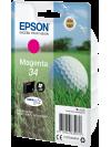 Tinteiro EPSON 34 Magenta - WorkForce Pro WF-3720/3725