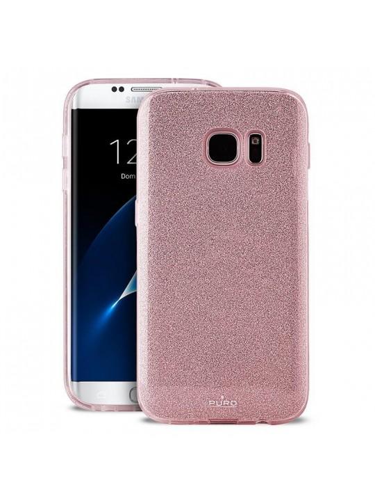 PURO SGS8EDSHINERGOLD capa para telemóvel Estojo Rosa dourado