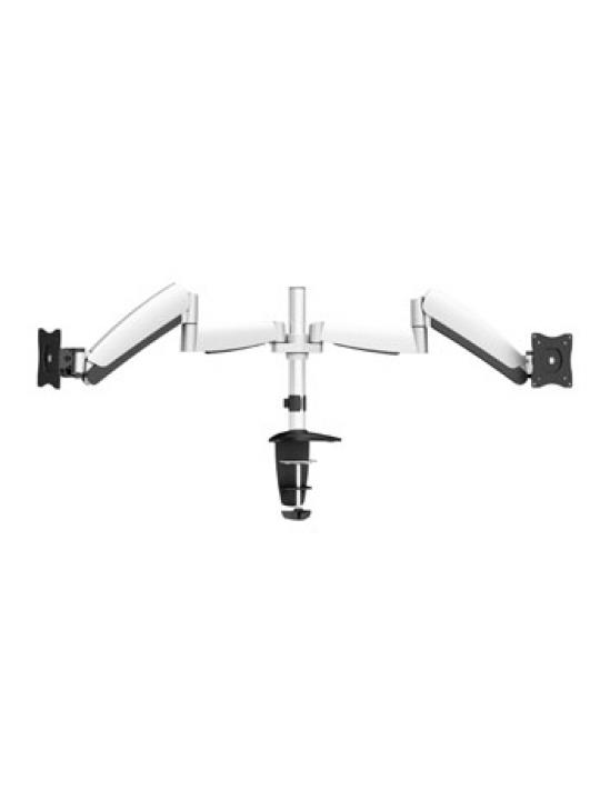 Equip 650113 montagem e suporte para monitores 68,6 cm (27´´) Clamp Preto, Branco