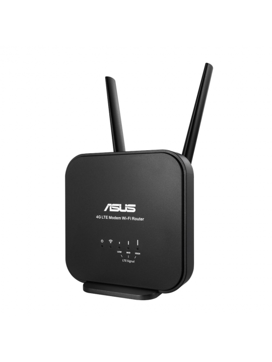 ASUS 4G-N12 B1 router sem fios Fast Ethernet Single-band (2,4 GHz) Preto