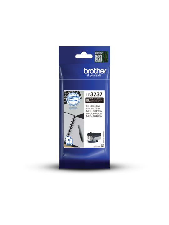 Brother LC-3237BK tinteiro 1 unidade(s) Original Rendimento padrão Preto