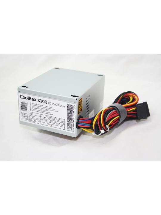 CoolBox S300 fonte de alimentação 300 W 20+4 pin ATX SFX Prateado