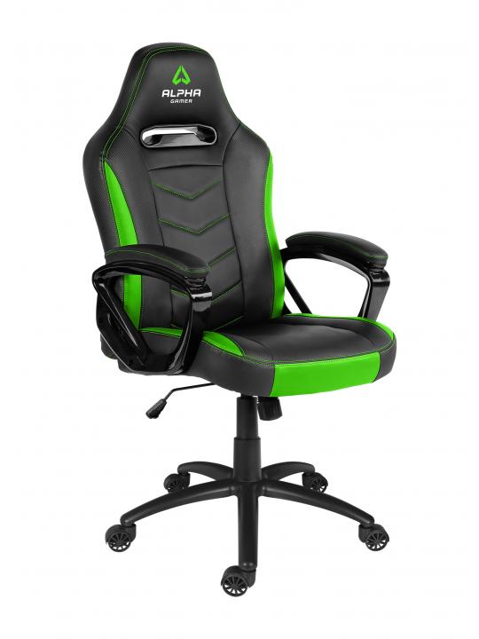 CADEIRA ALPHA Gamer Kappa Black / Green