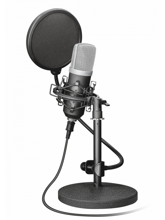 Microfone TRUST Emita USB Studio - 21753