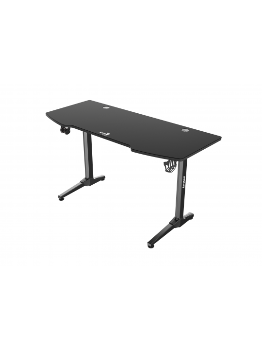 MESA AEROCOOL ACD2 GAMING DESK, 140CM, FULL MOUSEPAD, HEADSET & CUP SUP., CABLE GUIDE