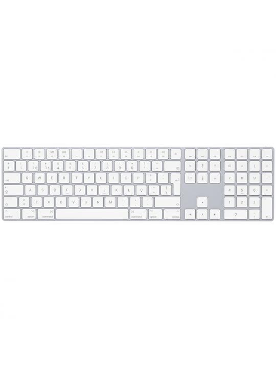 Apple Magic Keyboard with Numeric Keypad PT Branco- MQ052PO/A