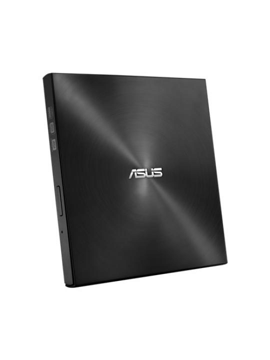 DVD+/-RW ASUS 8x Externo Slim Black USB - SDRW-08U7M-U BLK