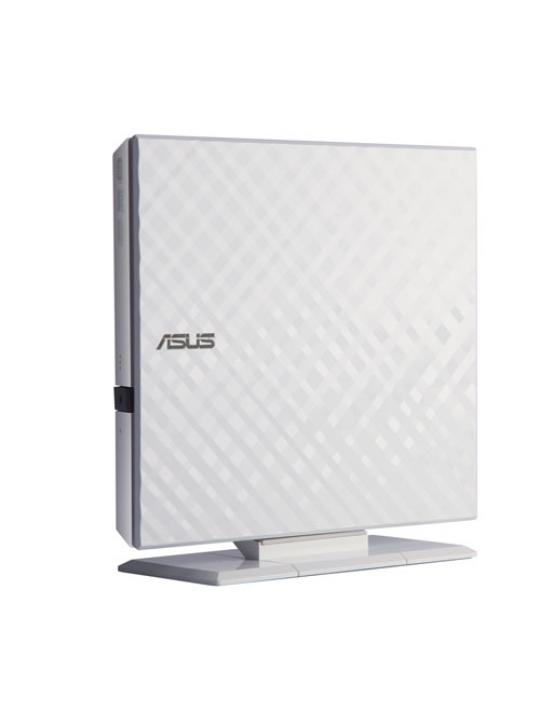 DVD+/-RW ASUS 8x Externo SlimWhite USB - SDRW-08D2S-U LITE