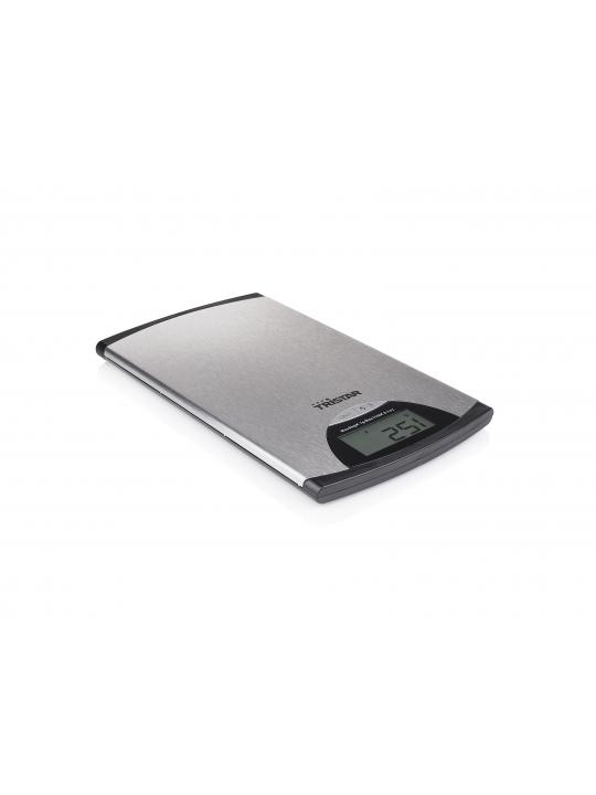 Tristar KW-2435 balança de cozinha Metálico Rectângulo Balança de cozinha eletrónica