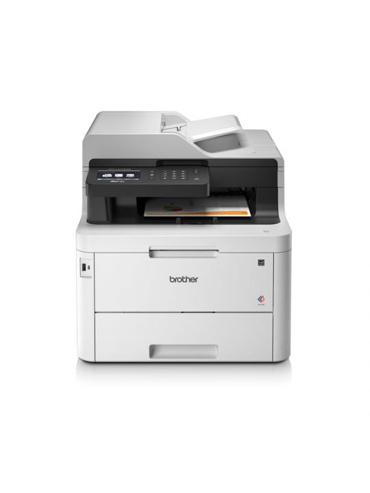 Impressora BROTHER Multifunções Laser MFC-L3770CDWYY1 - LED + WiFi + Fax