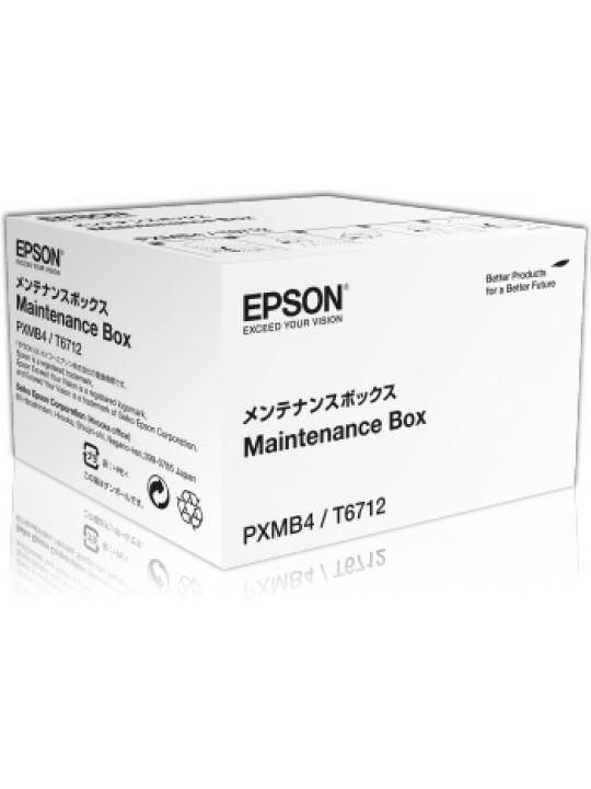 Caixa de Manutenção EPSON T6712 - WF-6090/6590/8010/8090/8510/8590/R8590