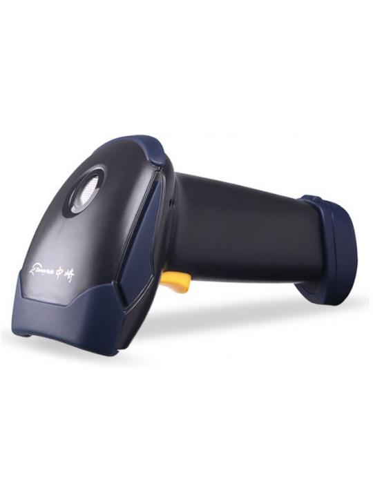 Leitor Código de Barras DDIGITAL Laser c/ Suporte e Sensor Automático, Preto - LS6025