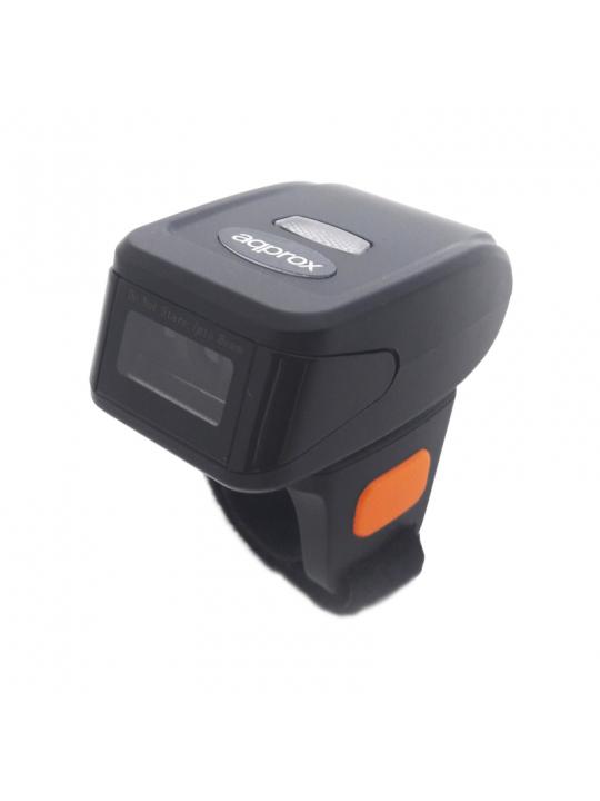 Leitor Códigos de barras Anel APPROX 2D LS14R2D - Bluetooth/Wireless 2,4Ghz