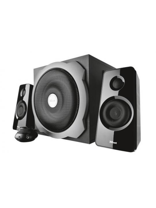 Colunas TRUST Tytan Subwoofer 2.1 Speaker Black-19019