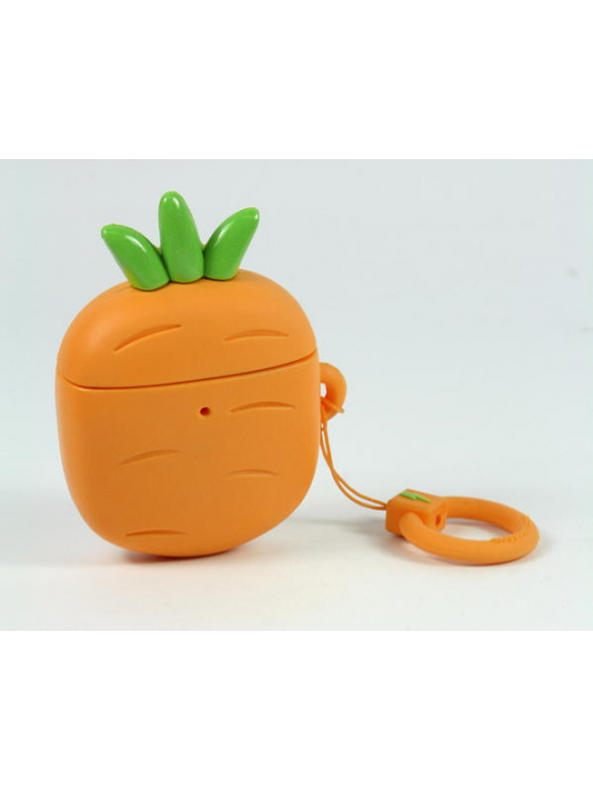 Mojipower - Bolsa para AirPods Carrot