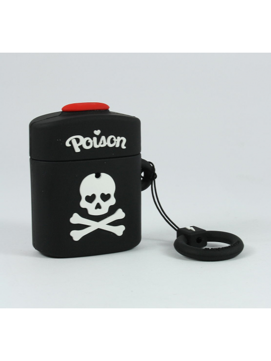 Mojipower - Bolsa para AirPods Poison