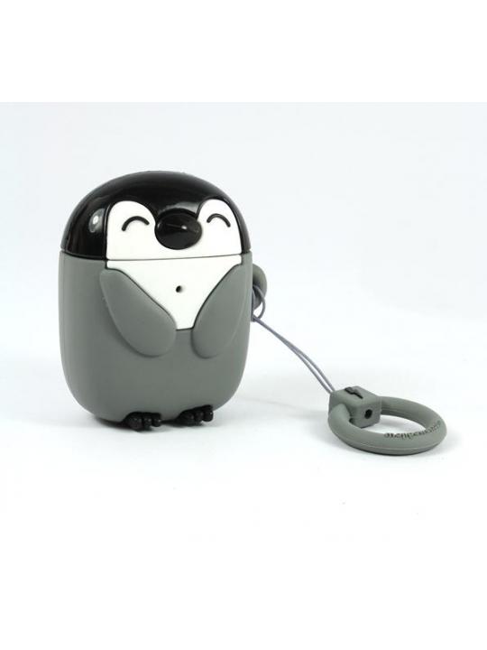 Mojipower - Bolsa para AirPods Penguin