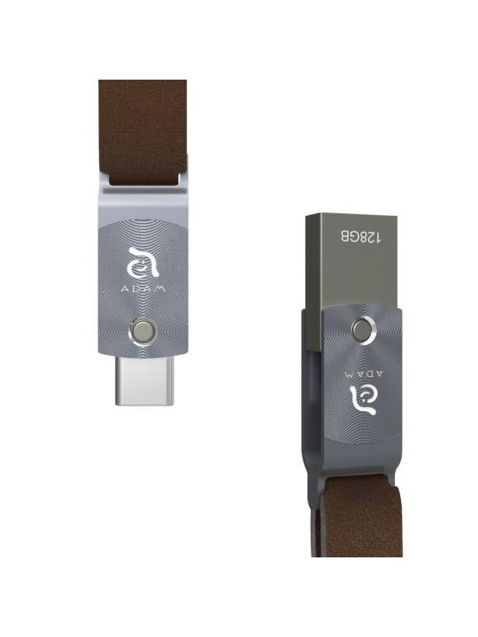 Adam Elements - Pen ROMA USB3/USB-C 128 GB (grey)