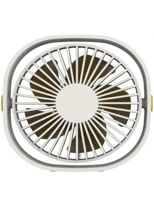 qushini - Mini Desk Fan (white)