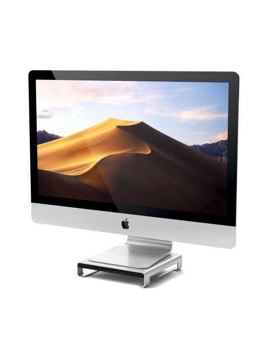 Satechi - Type-C Alum. Monitor Stand Hub for iMac (silver)