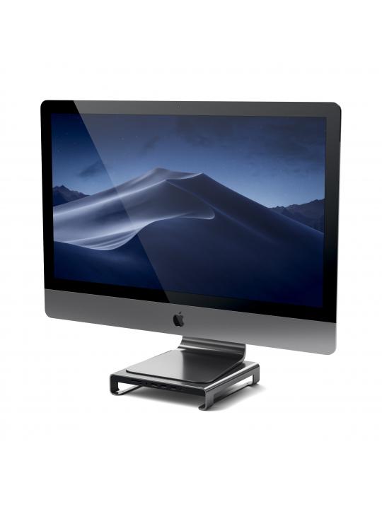 Satechi - Type-C Alum. Monitor Stand Hub for iMac (sp. grey)